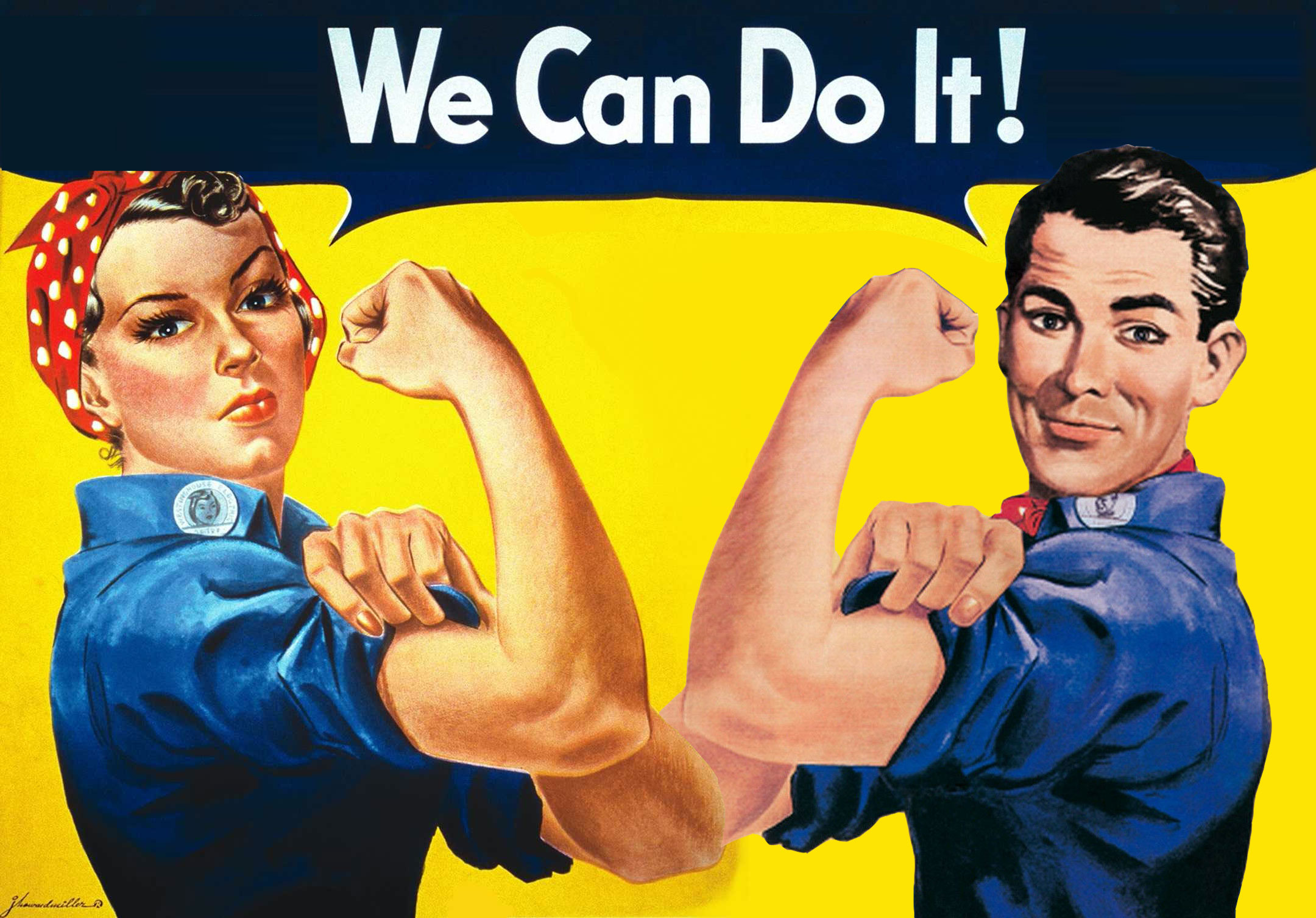 We Can Do It – Zusammen sind wir Helden!